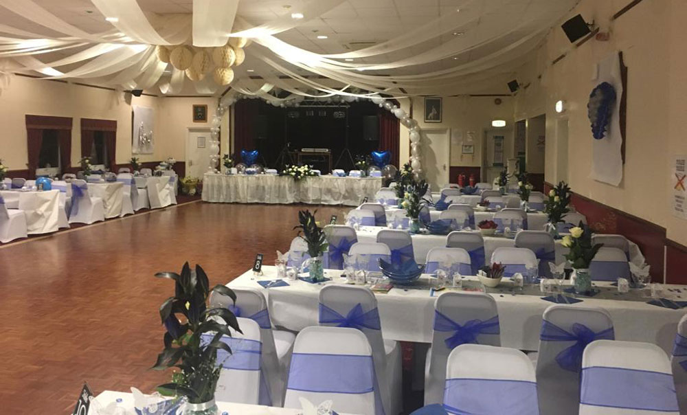 Hall hire for private events in Reading